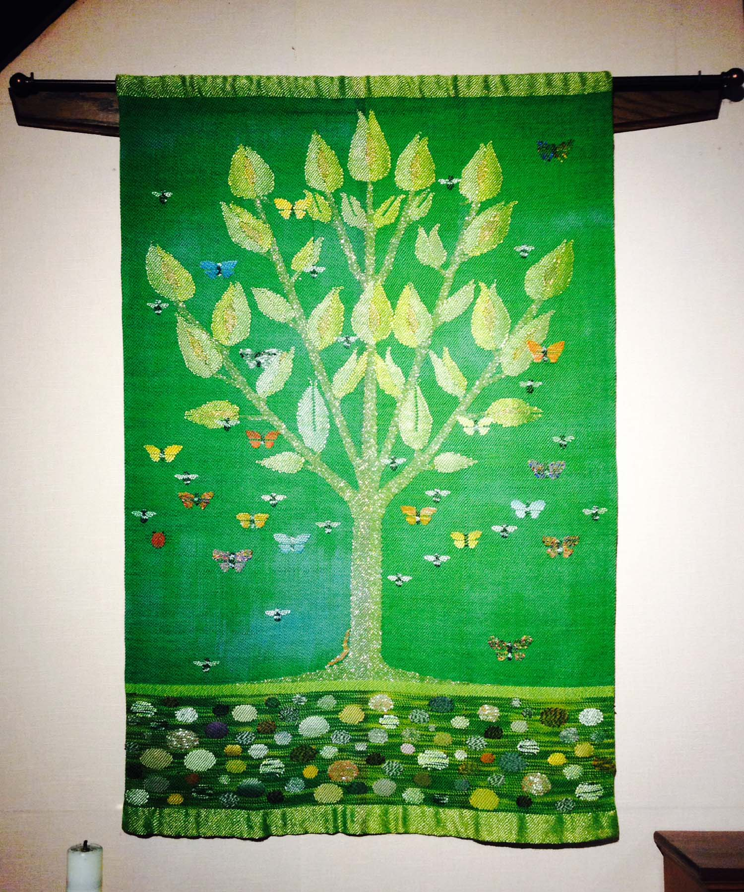 Tree of Life, 2014.  St Stephens Episcopal Church, New Harmony IN