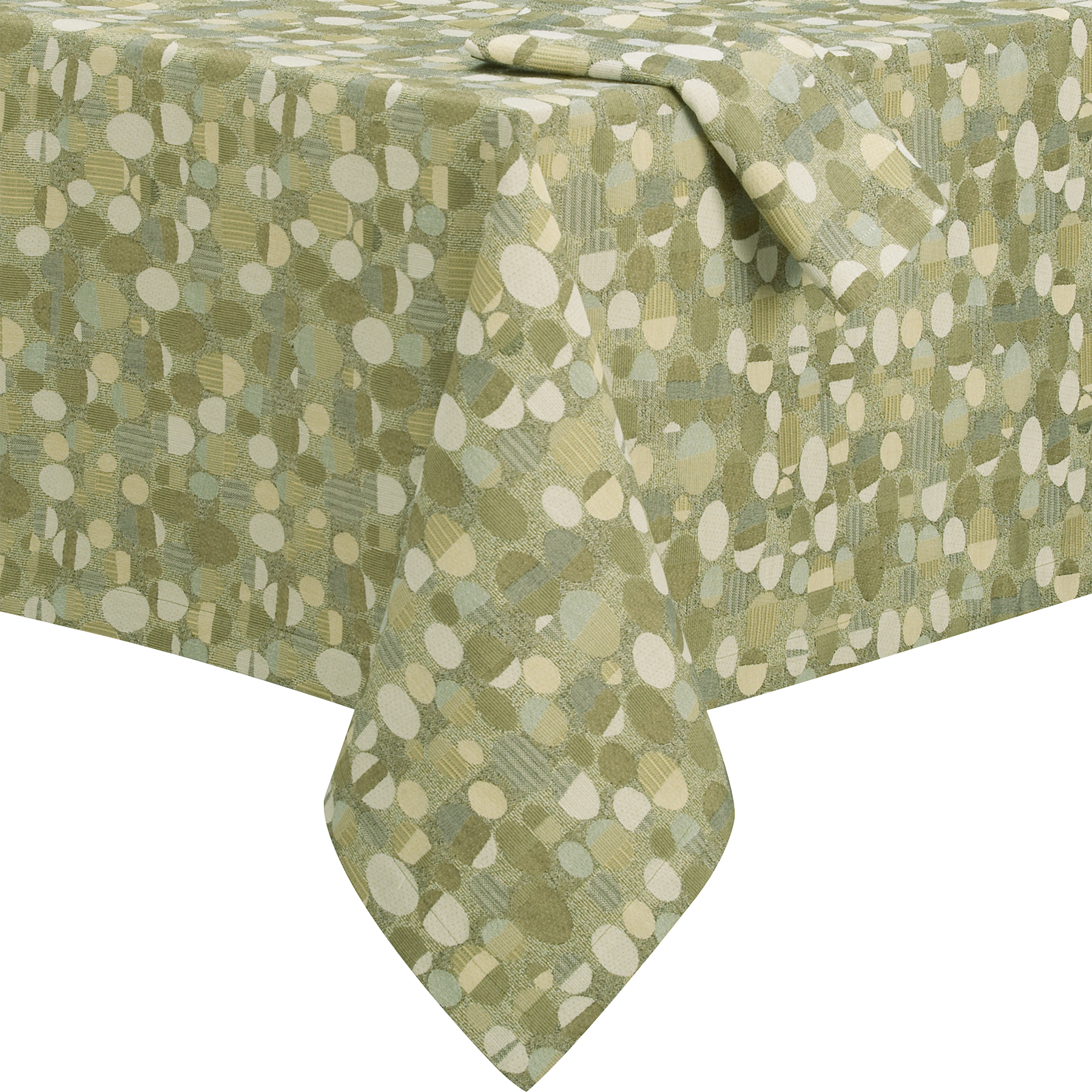 Stones Jacquard Tablecloth for Crate & Barrel