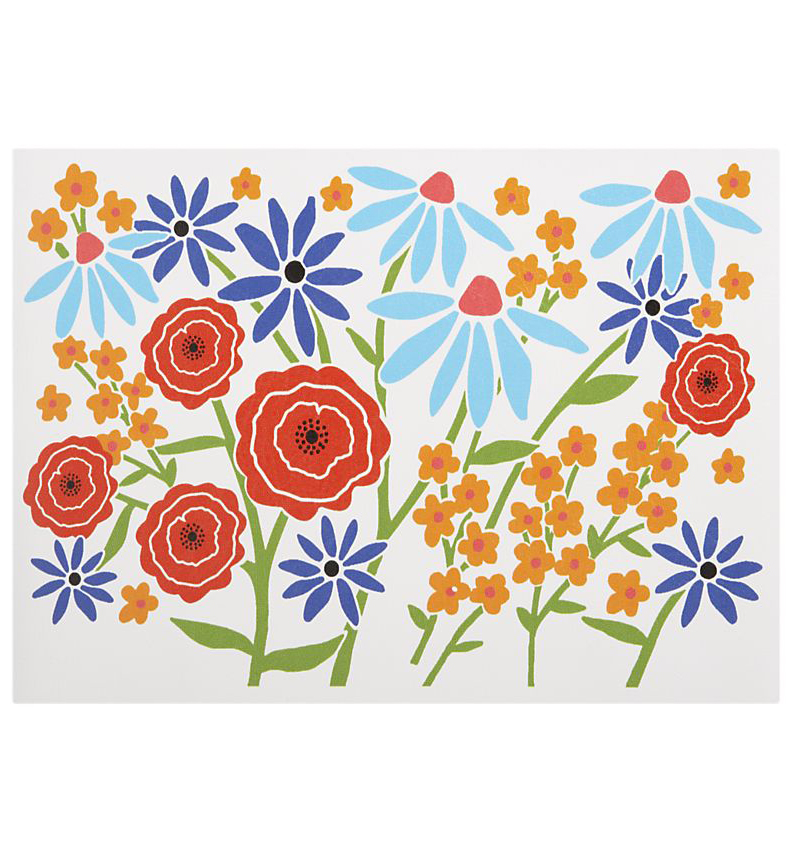 Wildflower Place mat for Crate & Barrel