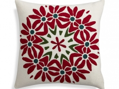poinsettia-18-pillow LFN for C&B