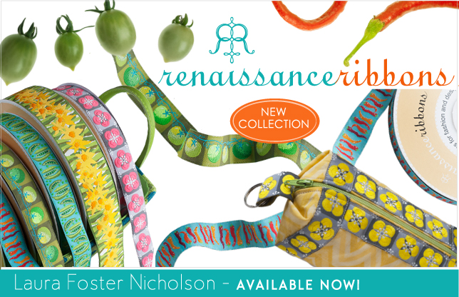 2013 collection for Renaissance Ribbons
