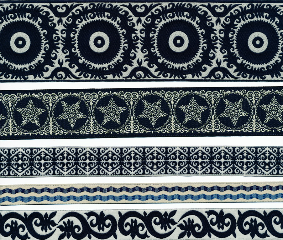 black and white exotics for Renaissance Ribbons