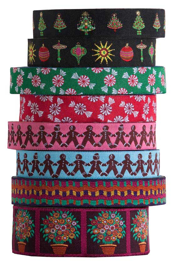 Holiday 2012 collection for Renaissance Ribbons