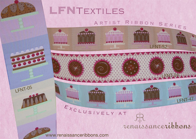 Cakes and Candy collection, Renaissance Ribbons