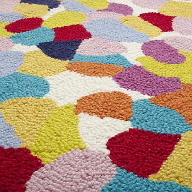 detail, Aquarium Gravel rug for Land of Nod