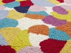 detail, Aquarium Gravel rug for Land of Nod