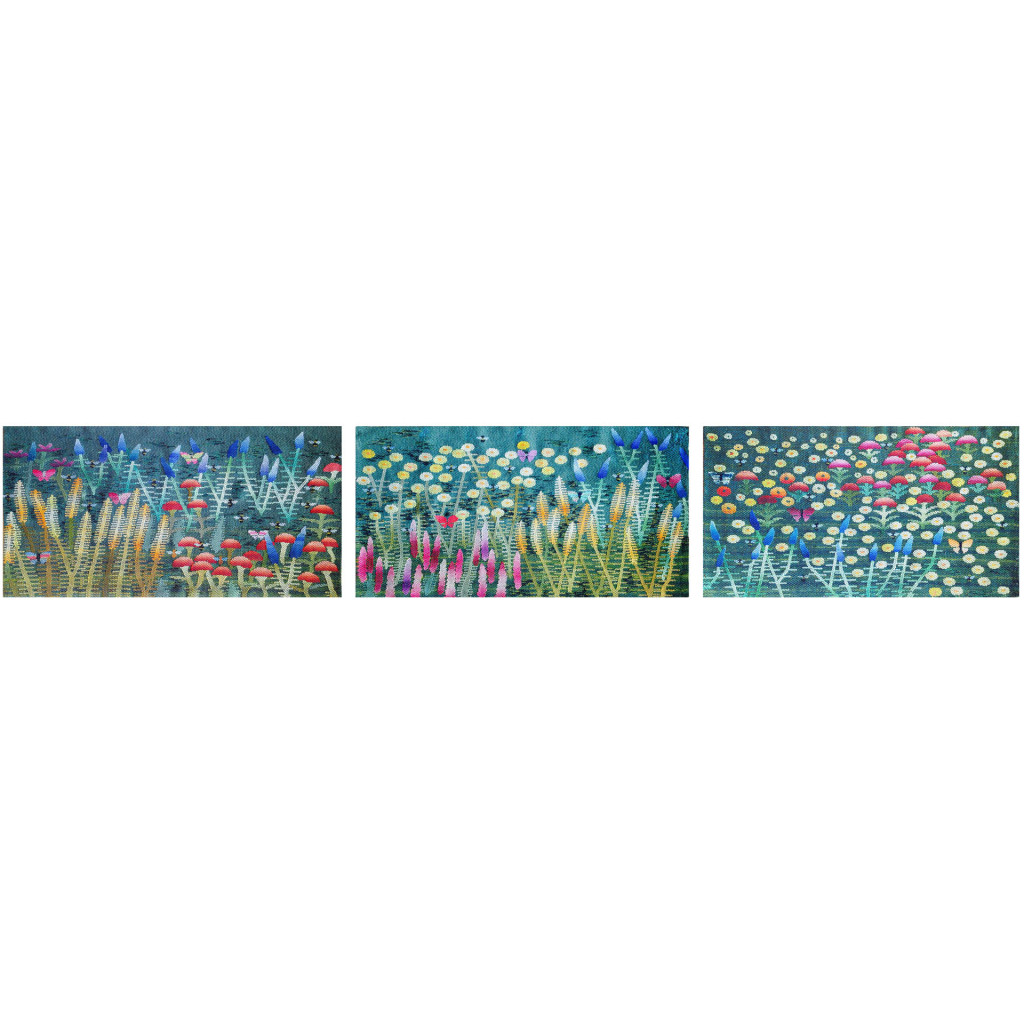 Triptych for Mayo Cinic, St. Mary's Hospital, Rochester MN 2015