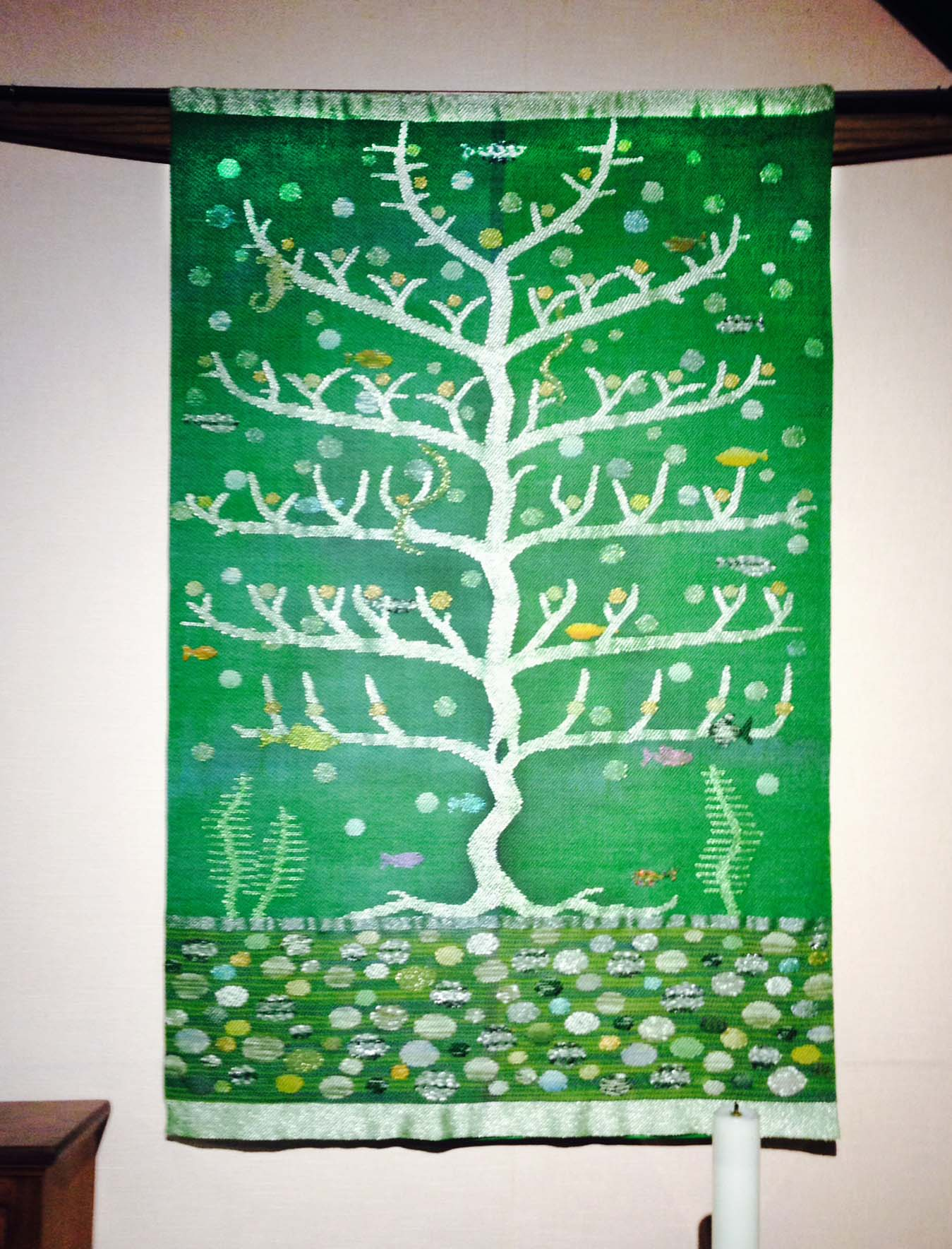 Tree of Revelation, 2014.  St Stephens Episcopal Church, New Harmony IN