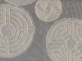 detail, Labyrinth window covering fabric