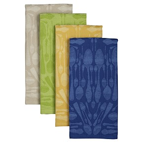 Spoon Jacquard Dishtowels for Crate & Barrel