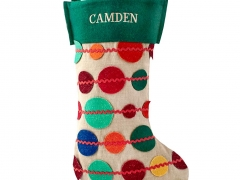 Connect the Dots Stocking for Land of Nod