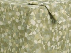 Stones Jacquard Tablecloth for Crate & Barrel