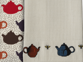 Teapot Dishtowel for Crate & Barrel