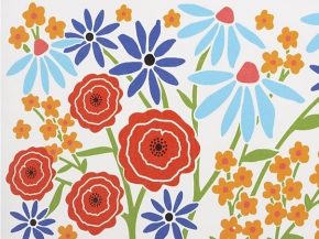 Wildflower Placemat for Crate & Barrel