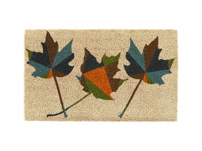 Maple Leaf Doormat for Crate & Barrel