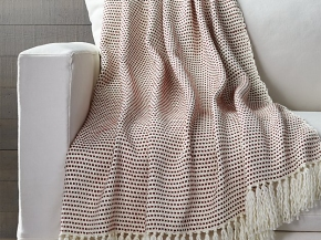 Peppermint Throw for Crate & Barrel