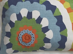 Petal Pillow for Crate & Barrel