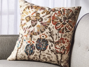 Poppy Pillow for Crate & Barrel