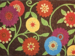 Autumn Bloom Doormat for Crate & Barrel