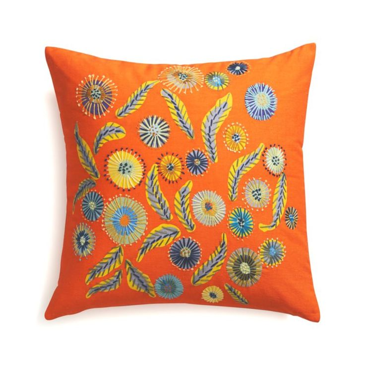 Juanita Pillow for Crate & Barrel