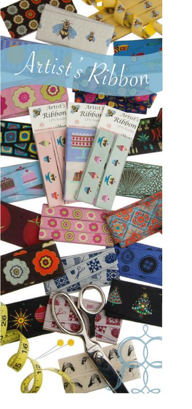 a variety of ribbons for Renaissance Ribbons