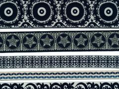 black and white exotics for Renaissance Ribbons