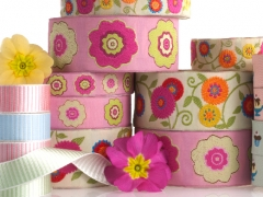 spring Primrose collection for Renaissance Ribbons