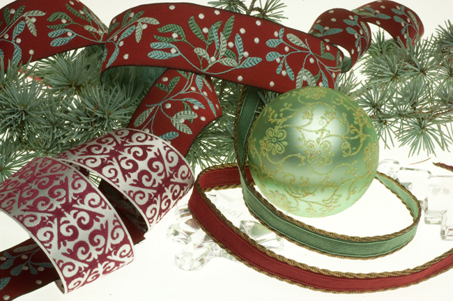 Holiday collection for Renaissance Ribbons