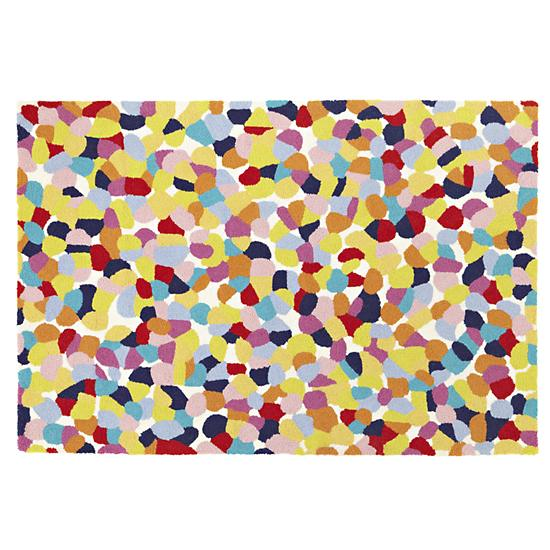 Aquarium Gravel Rug, designed for Land of Nod