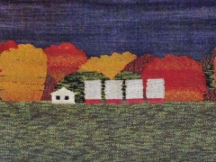 Tanks in Autumn Fields